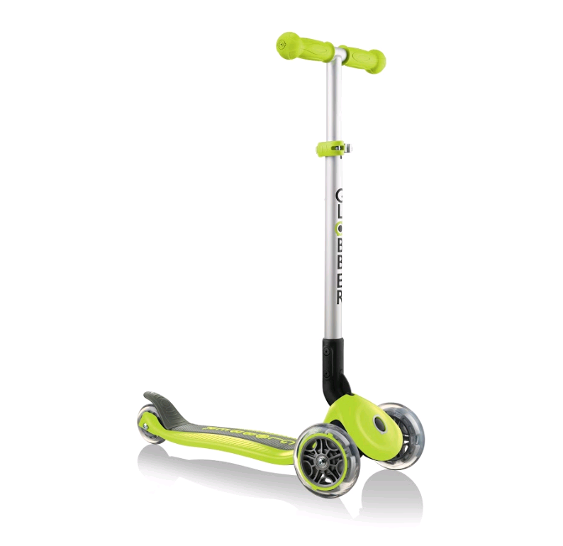 GLOBBER - Primo Foldable Scooter - Lime Green (430-106-2 )