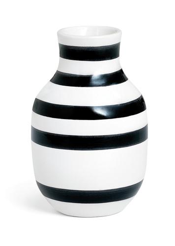 Kähler - Omaggio Vase Black - Small (690186)