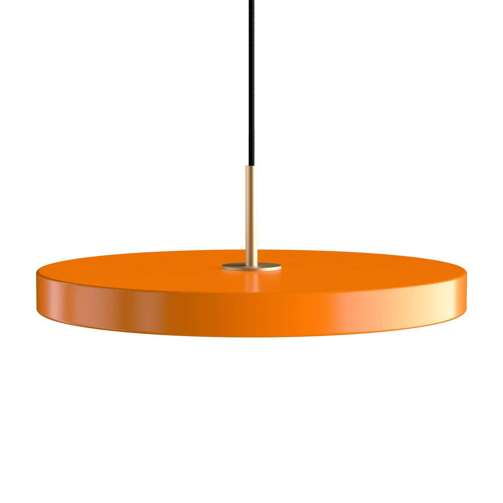 UMAGE Asteria medium-riippuvalo, messinki, oranssi