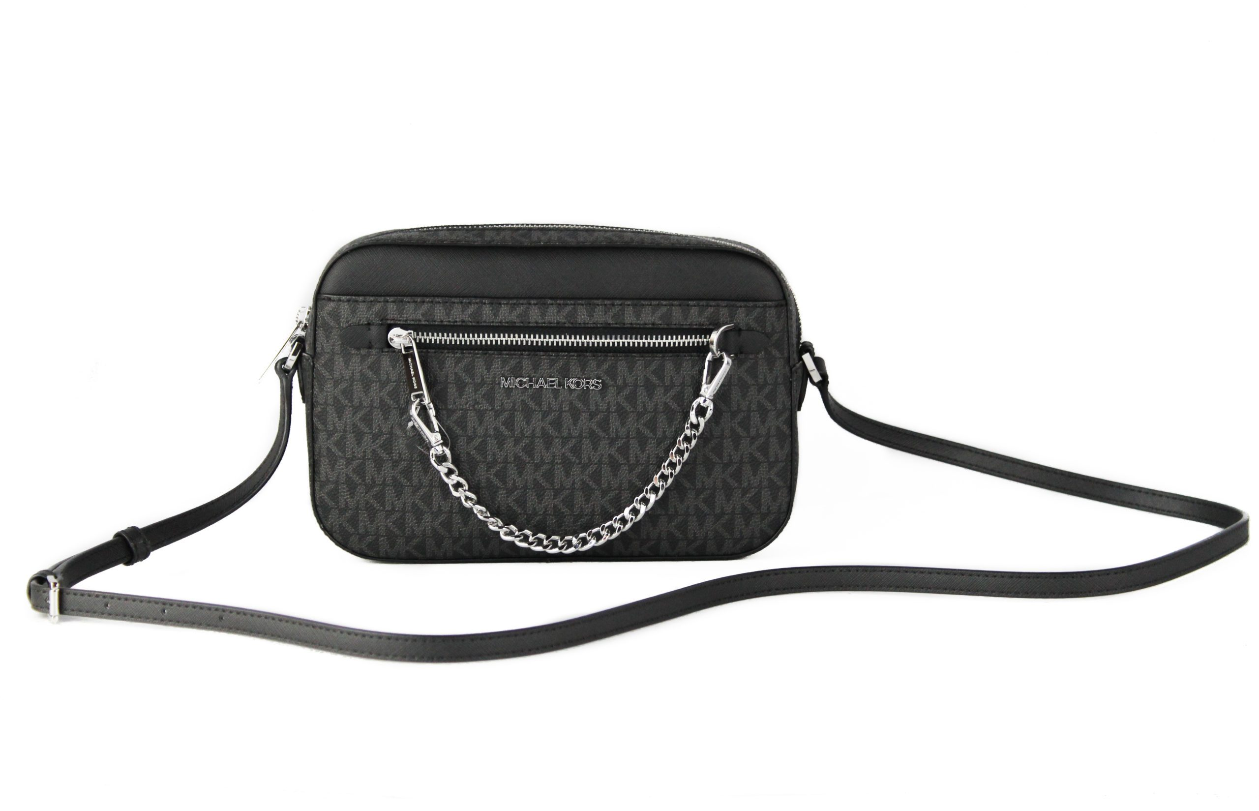 Michael Kors Women's Jet Set Item Crossbody Bag Black 89778
