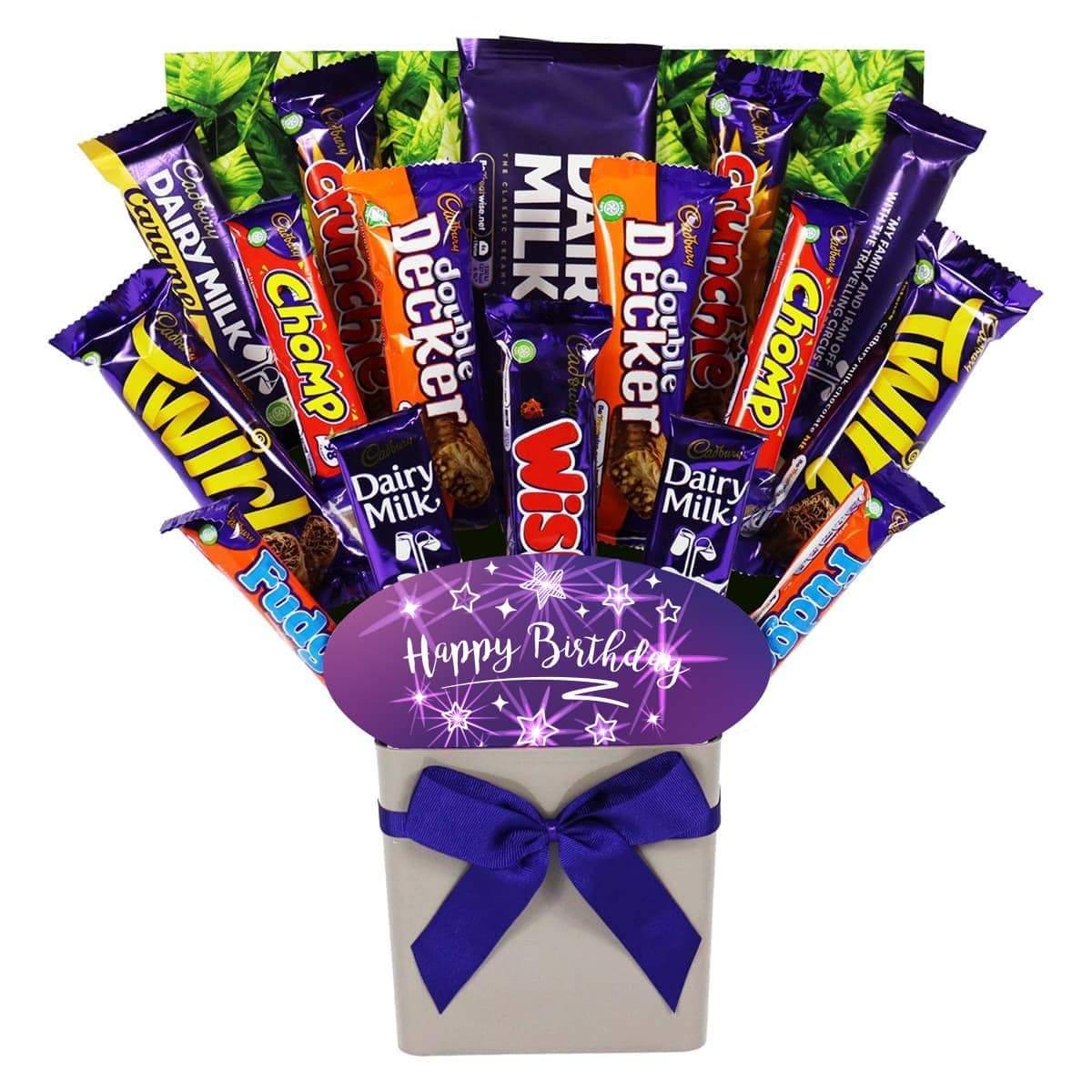 The Happy Birthday Cadbury Chocolate Bouquet