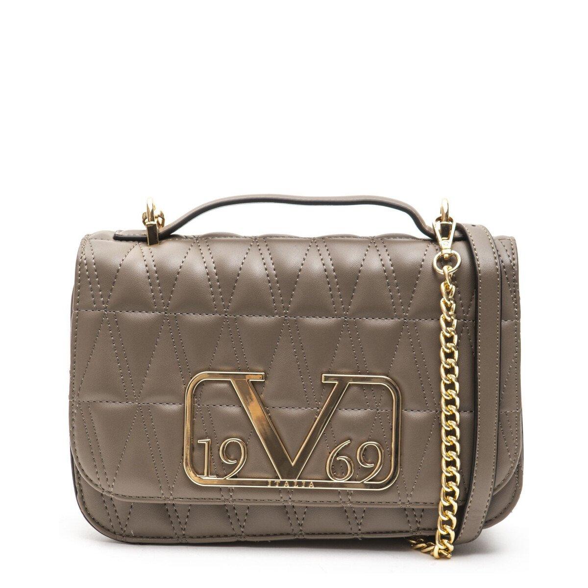 19v69 Italia Women's Shoulder Bag Various Colours 318906 - brown UNICA