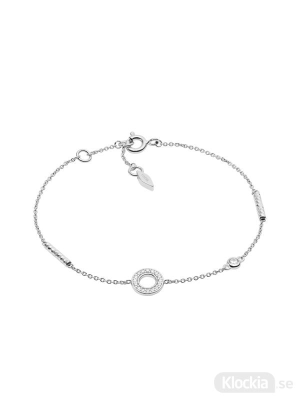 Damsmycke FOSSIL Armband Sterling Silver JFS00474040