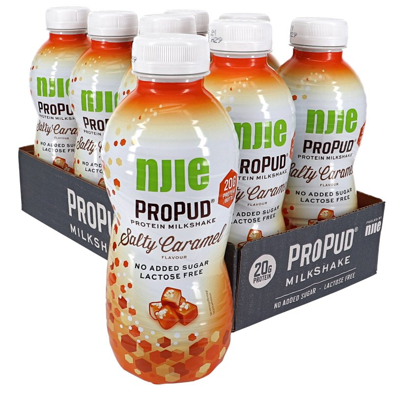 Proteiinipirtelöt Salty Caramel 8kpl - 33% alennus