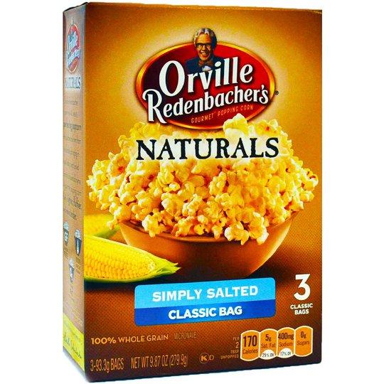 Popcorn Lättsaltade 279g - 73% rabatt