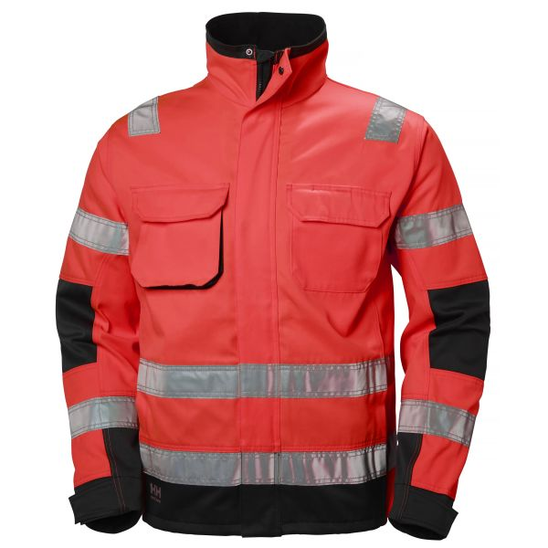 Helly Hansen Workwear Alna Jacka varsel, röd/svart S