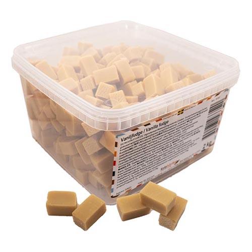 Vaniljfudge Lösvikt i Burk - 2 kg
