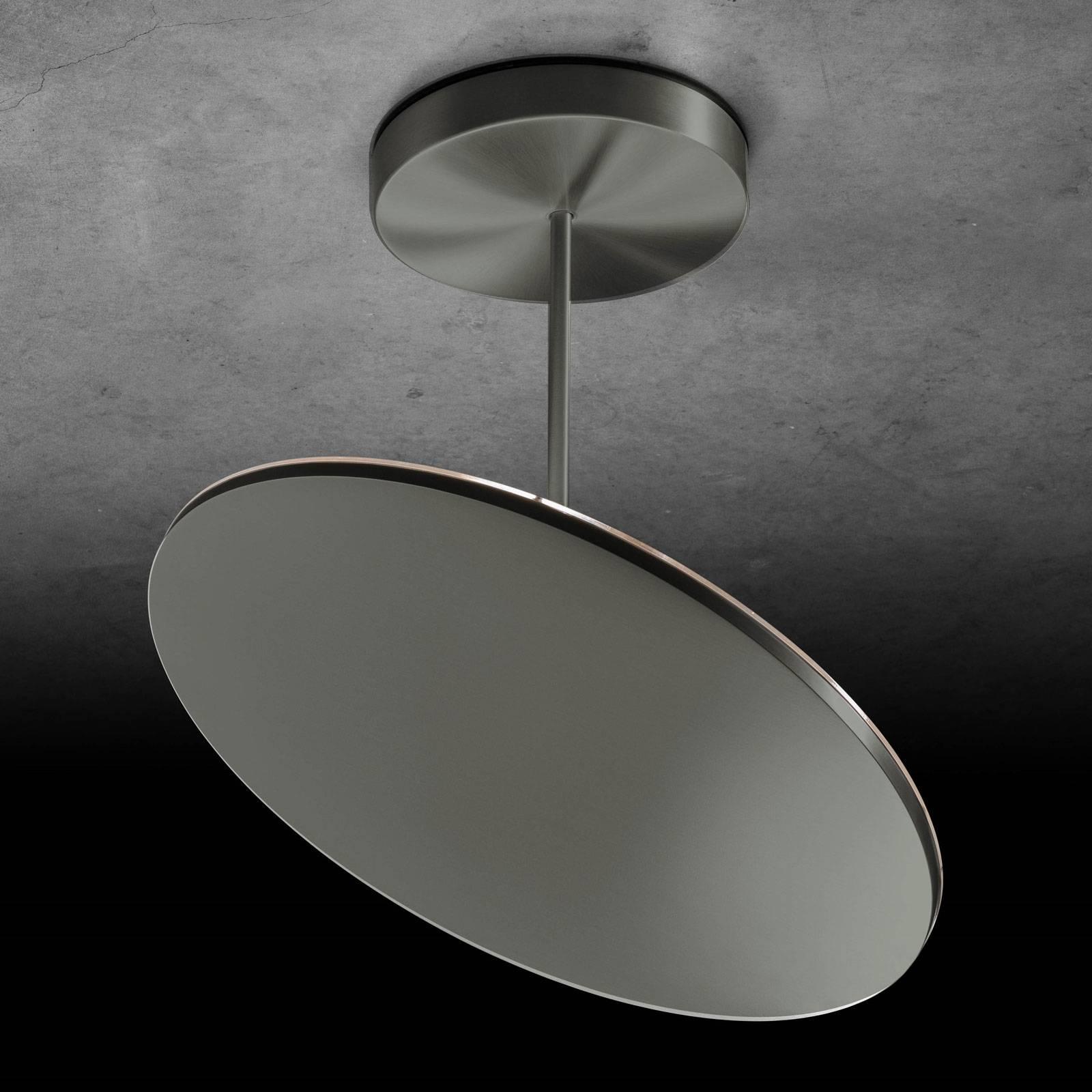 Holtkötter Plano XL -LED-kattovalaisin, platina