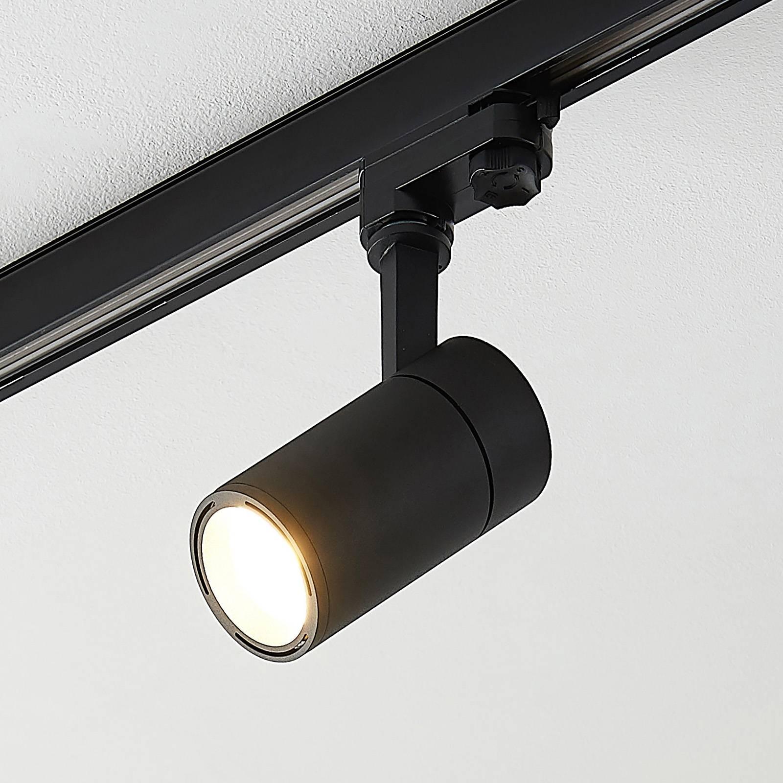 Arcchio Cady LED-kiskovalaisin, musta 36° 12 W