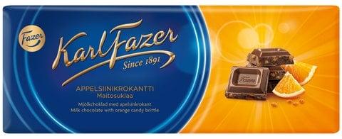 Suklaalevy Appelsiinikrokantti - 15% alennus