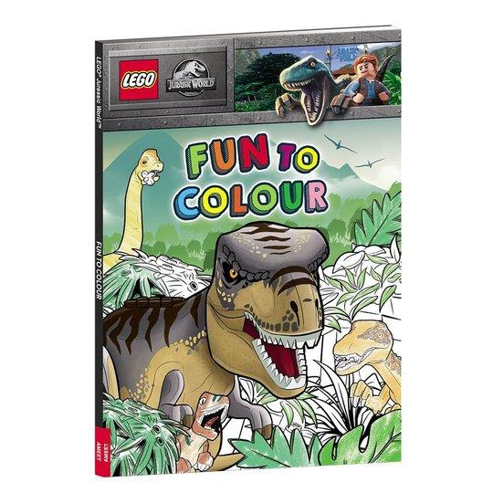 LEGO Jurassic World Fun To Colour Fargeleggingsbok