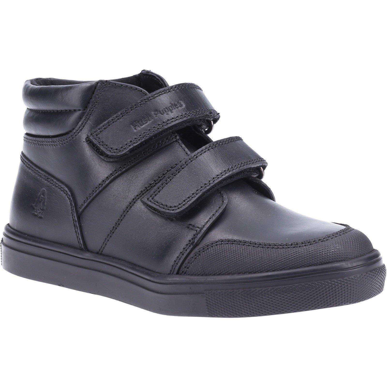 Hush Puppies Kid's Seth Senior School Boot Black 32570 - Black 5