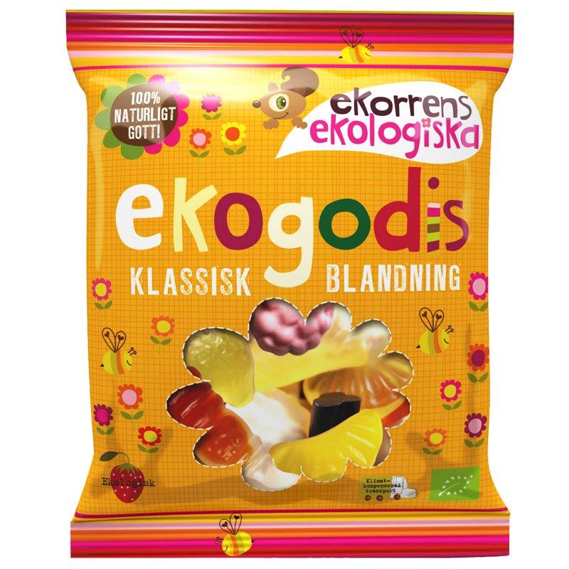 "Eko Godis ""Klassisk Blandning"" 100g - 52% rabatt"