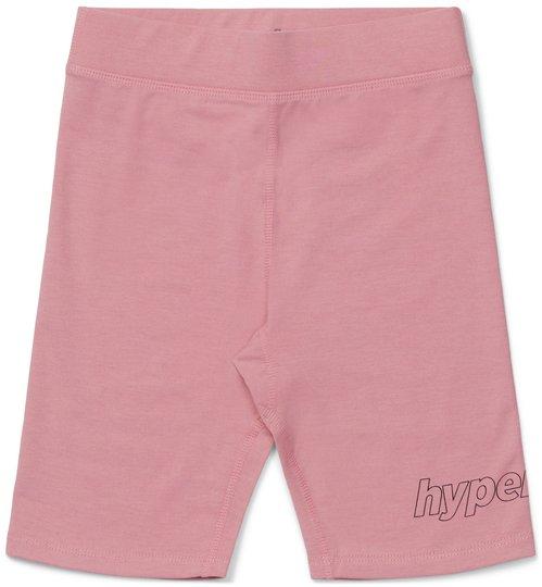 Hyperfied Jersey Logo Biker Shorts, Blush 86-92