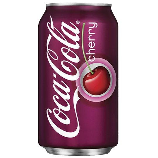"Coca-Cola ""Cherry"" 355ml - 22% rabatt"