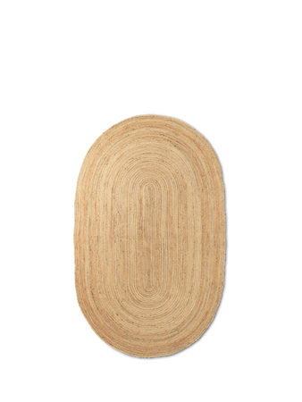 Eternal Jutematte Oval Natural Large