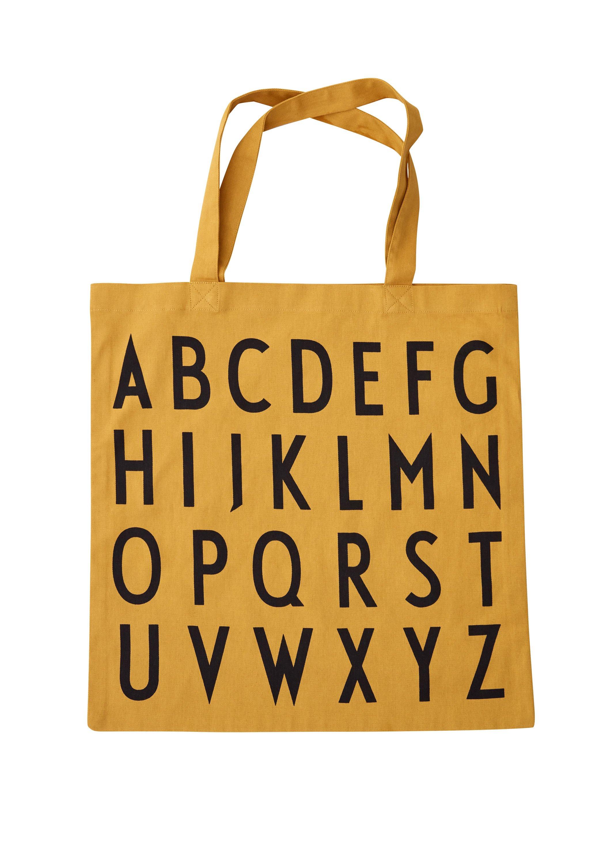 Design Letters - Farvorite Tote Bag - ABC MU (10502001MUABC)