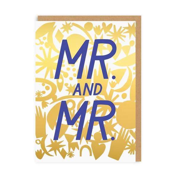 Mr & Mr Wedding Greeting Card