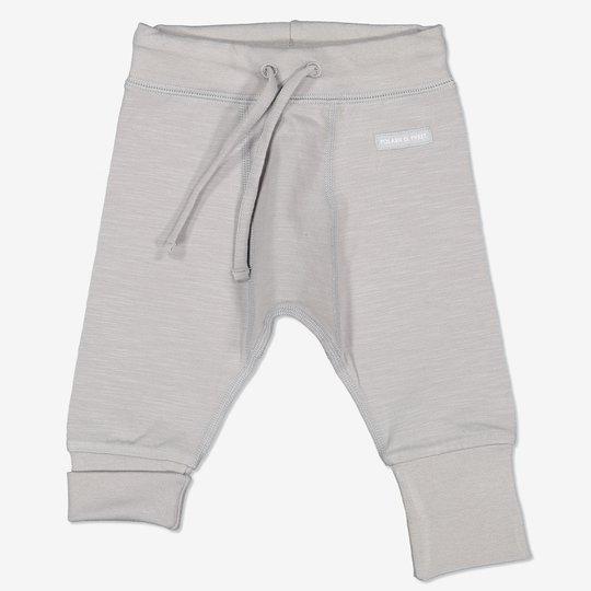 Bukse med knytebånd baby beige