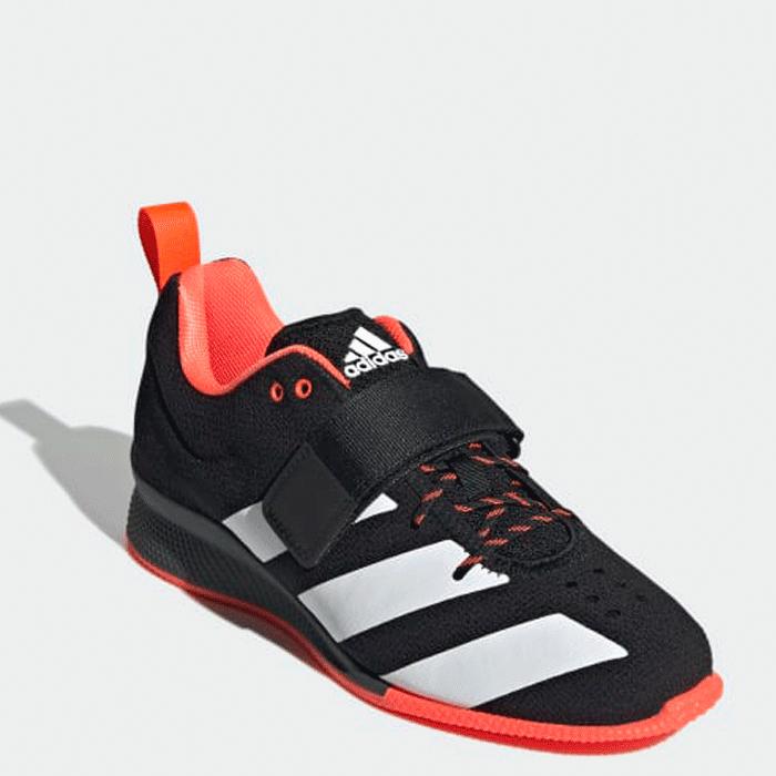 Adidas Adi Power Weightlifting II, Black/White/Red