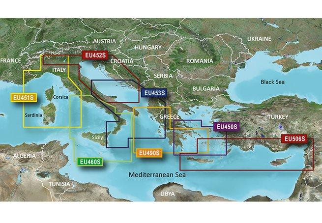 Garmin Greece WE Coast & Athens Garmin microSD™/SD™ card: VEU490S