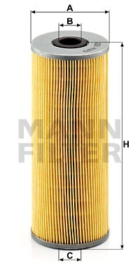 Öljynsuodatin MANN-FILTER H 973 x