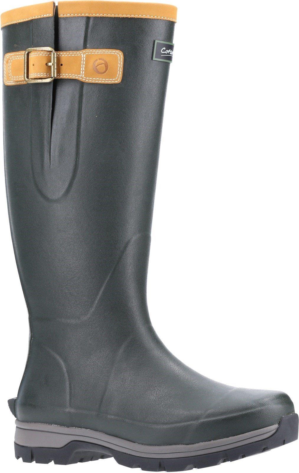 Cotswold Unisex Stratus Wellington Boot Green 31320 - Green 4