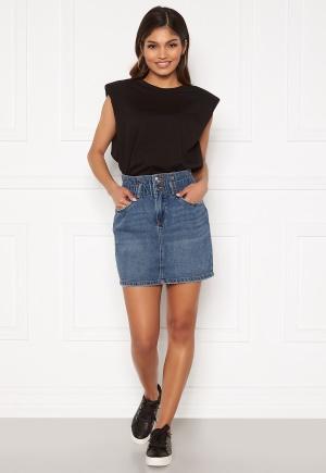 ONLY Millie Life HW Mini Paper Skirt Medium Blue Denim M