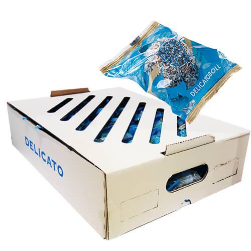 Hel låda Delicatobollar 50 st