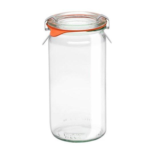 Weck Jars Konserveringsglasburk Cylindrical