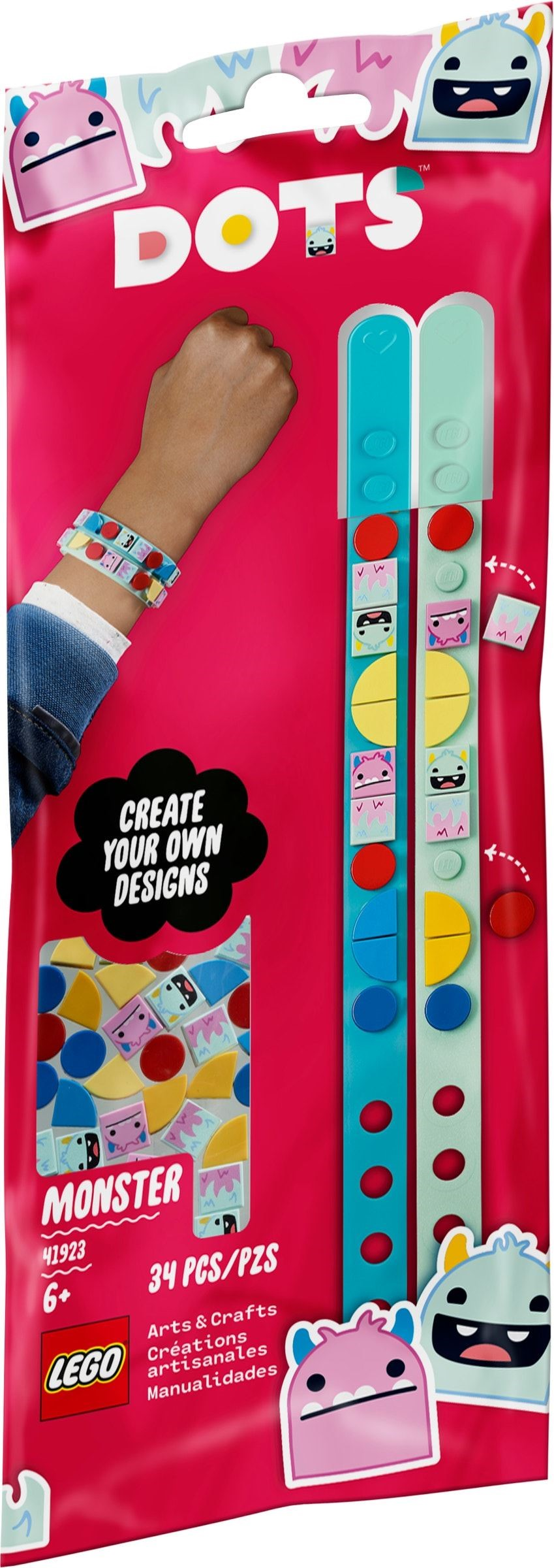 LEGO DOTS - Monster Bracelets (41923)