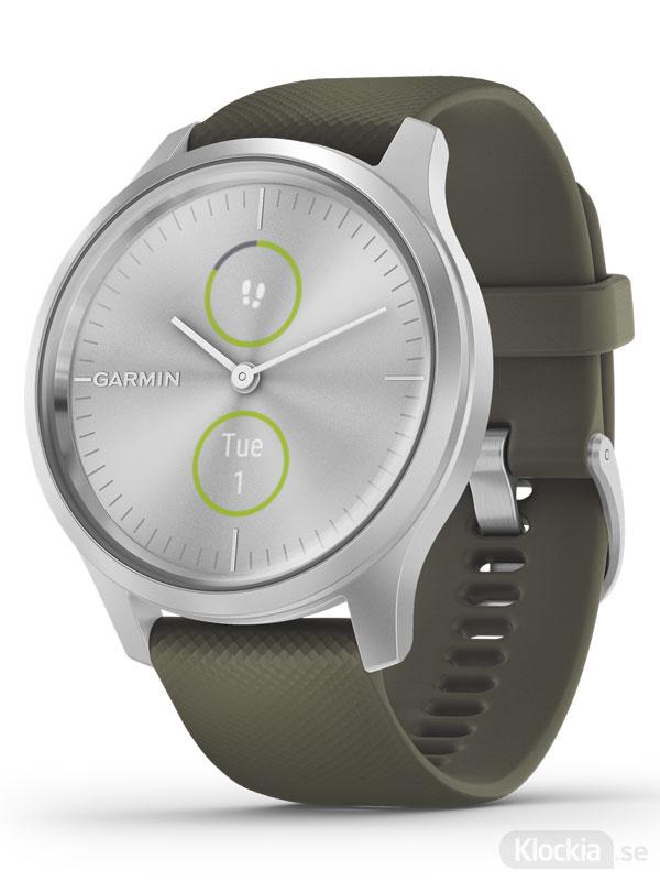 Garmin vívomove Style 42mm 010-02240-01 Träningsklocka med smarta aviseringar och pulsmätning