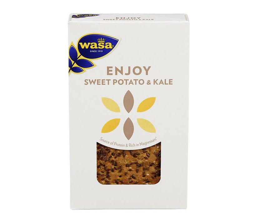 Näkkileipä Sweet Potato & Kale - 47% alennus