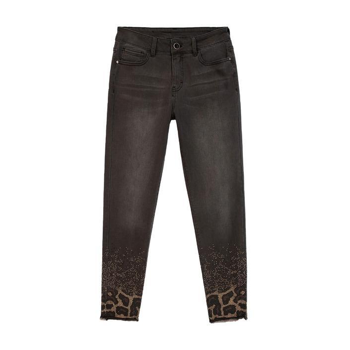 Desigual Women's Jeans Grey 181027 - grey w24