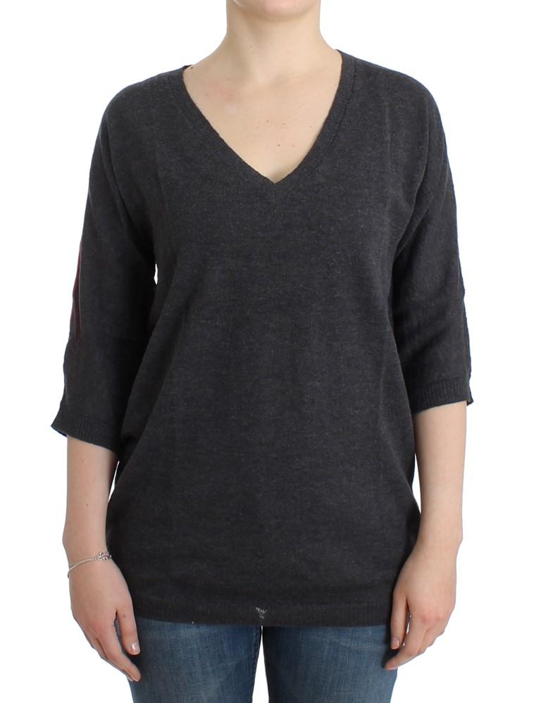 Costume National Women's SS Sweater Gray SIG12048 - M