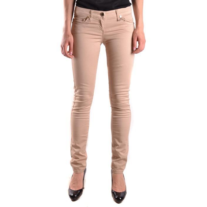 Elisabetta Franchi Women's Jeans Beige 161233 - beige 28