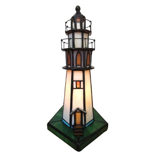 6006 dekorasjonsbelysning fyrtårn i Tiffany-stil