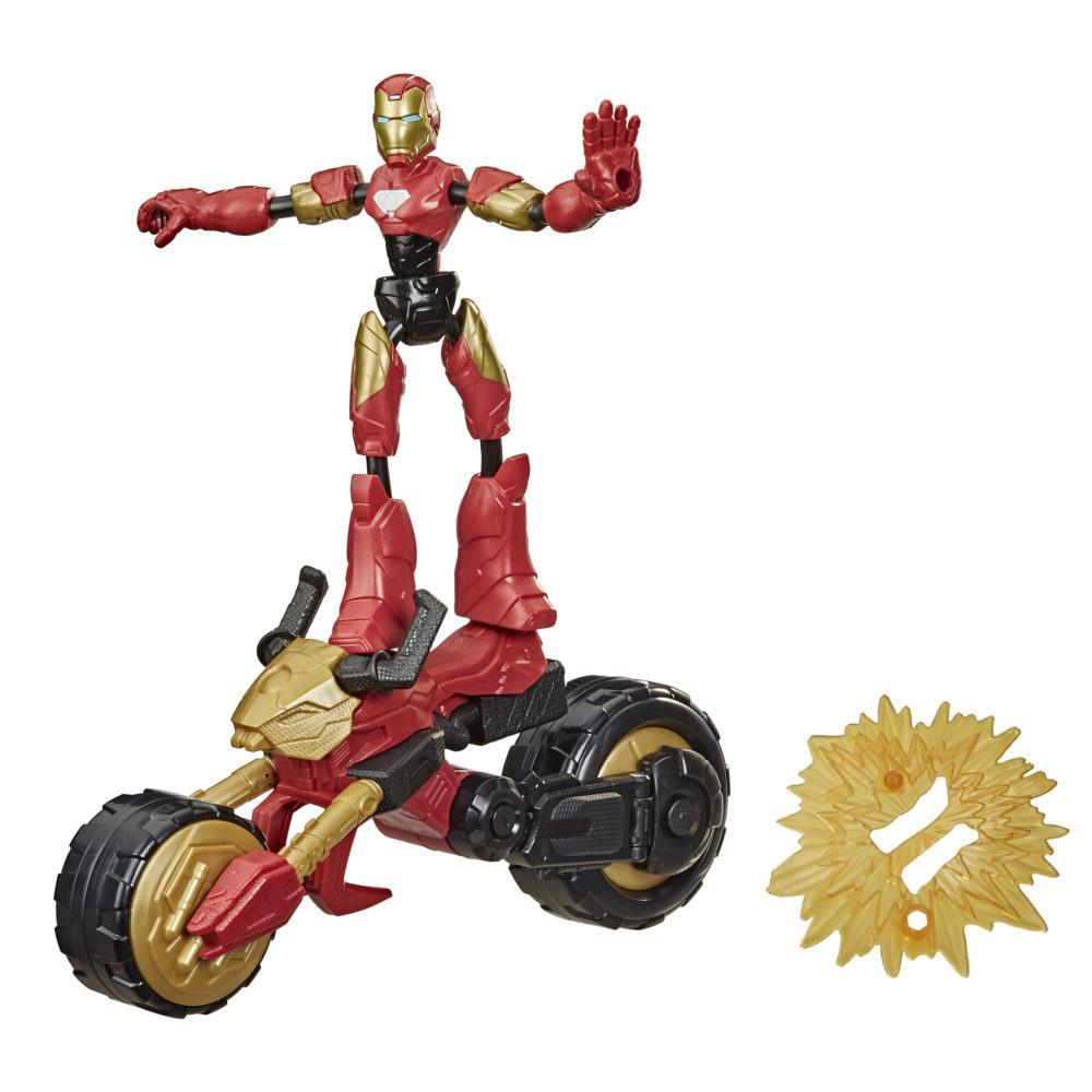 Avengers - Bend & Flex - Flex Rider Iron Man (F0244)