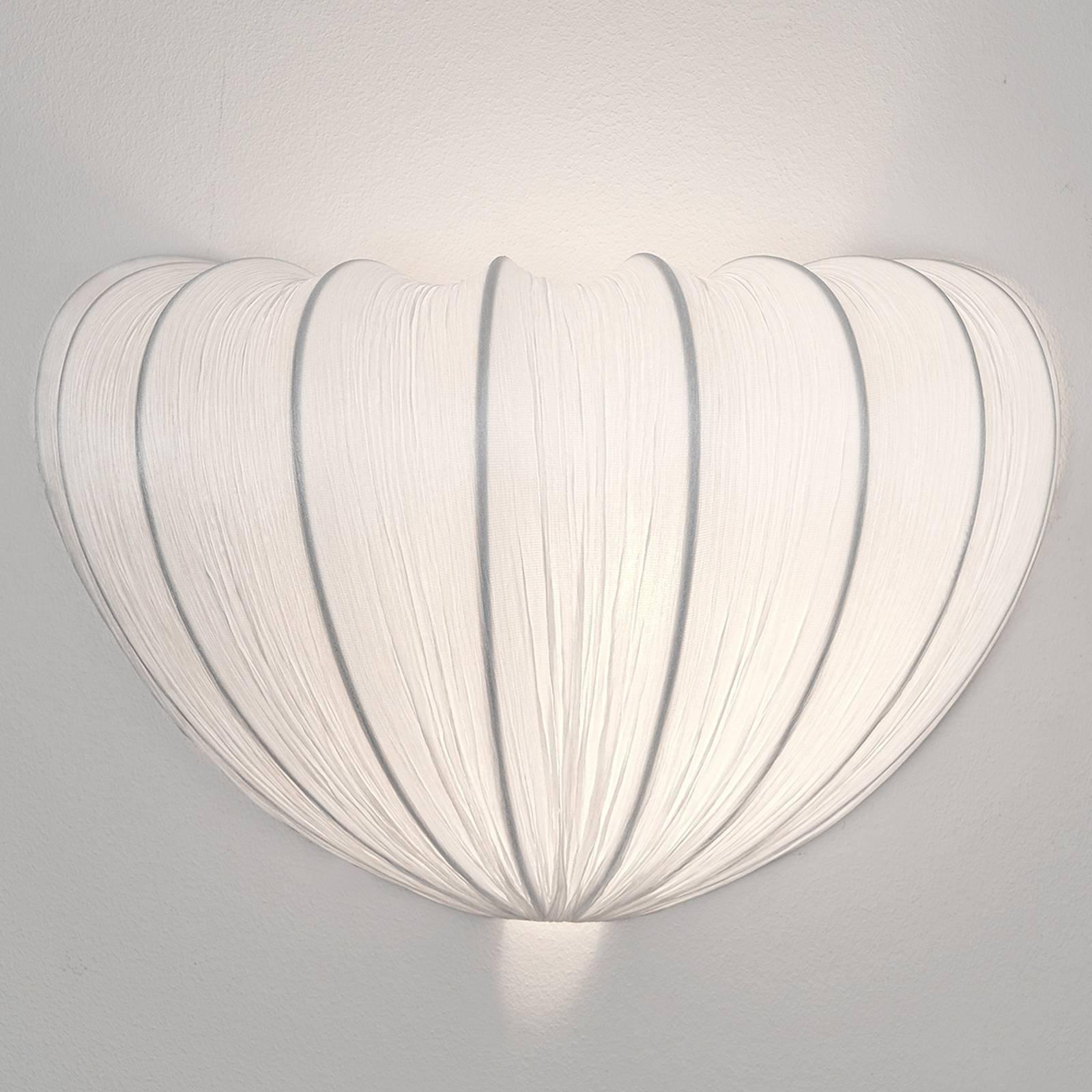 Vegglampe Sultano av tekstil