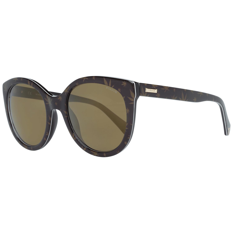 Police Women's Sunglasses Brown SPL408E54APAV