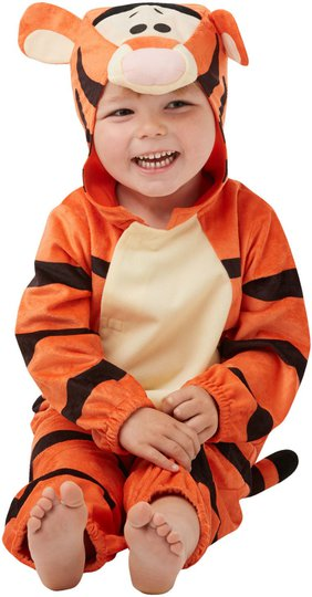 Disney Ole Brumm Kostyme Tigergutt 12-18 Måneder