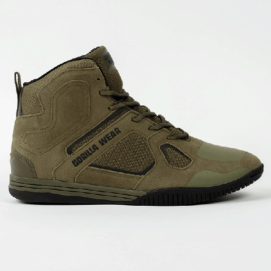 Troy High Tops, Army Green