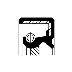 Oljepackningsring, differential, Framaxel, framaxel vänster, Höger, Vänster