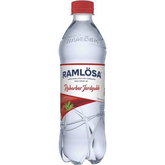 Ramlösa Rabarber & Jordgubb 50cl - 22% rabatt