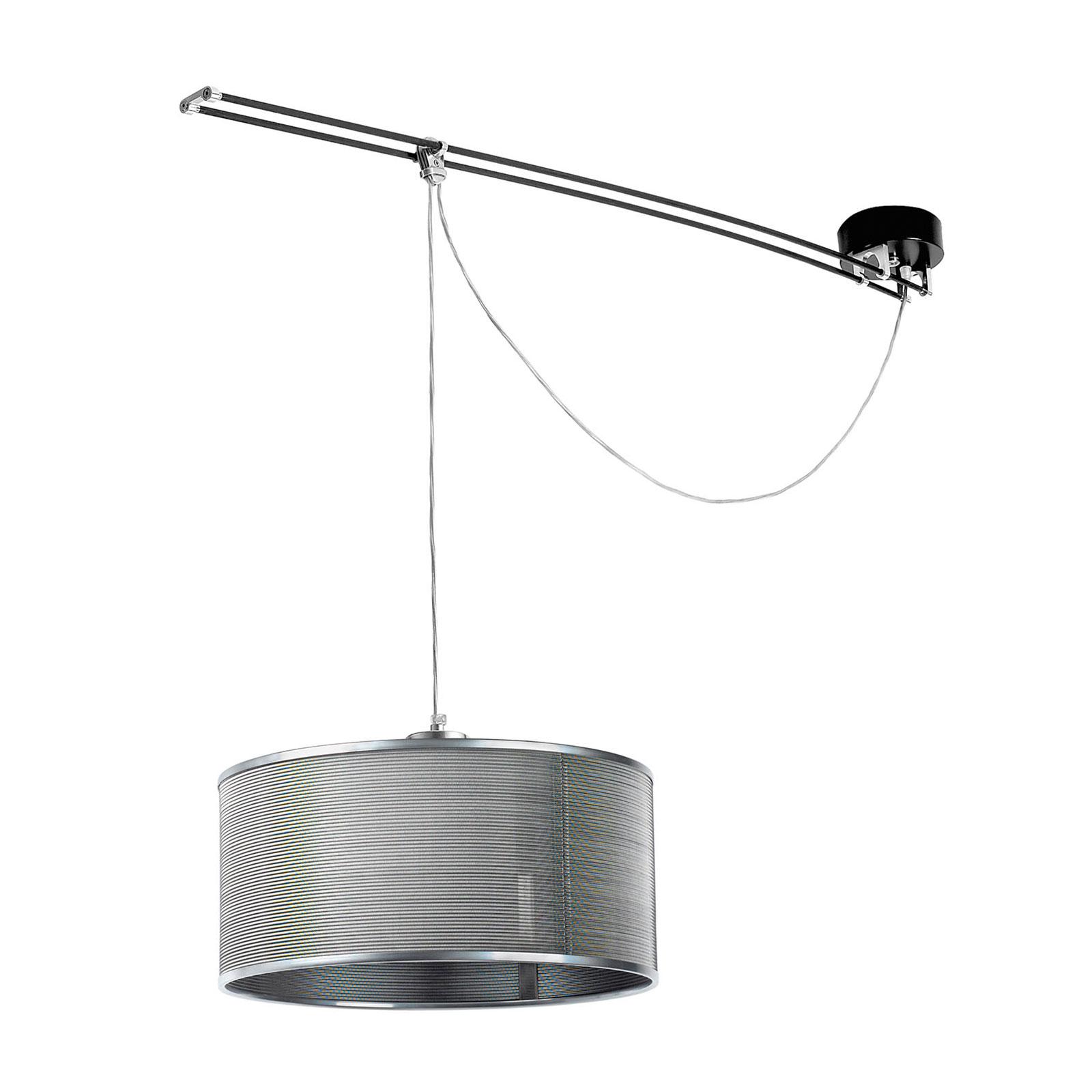 Lumina Moove -riippuvalo, 1-lamppuinen, harmaa