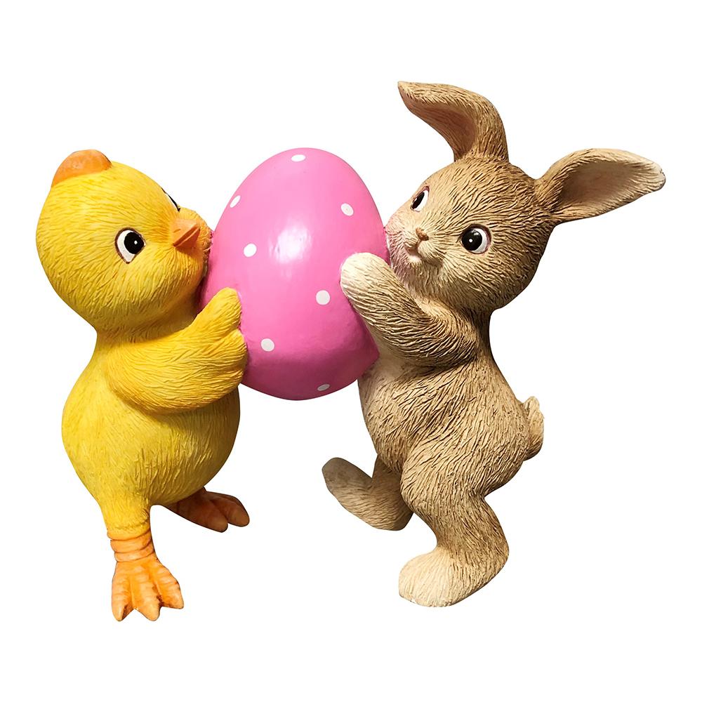 Figur Kyckling & Kanin