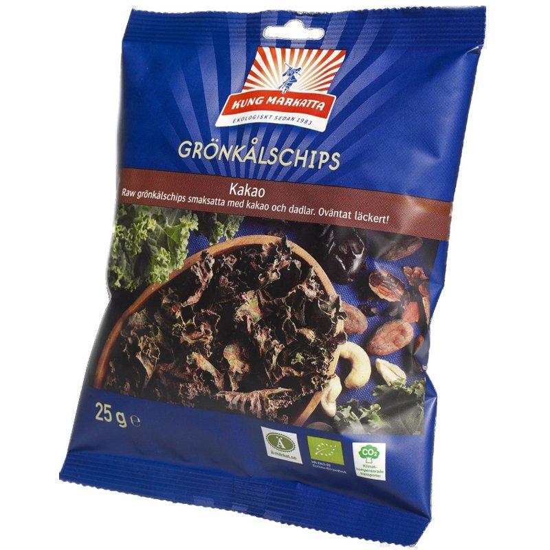 Grönkålschips Kakao 25g - 83% rabatt