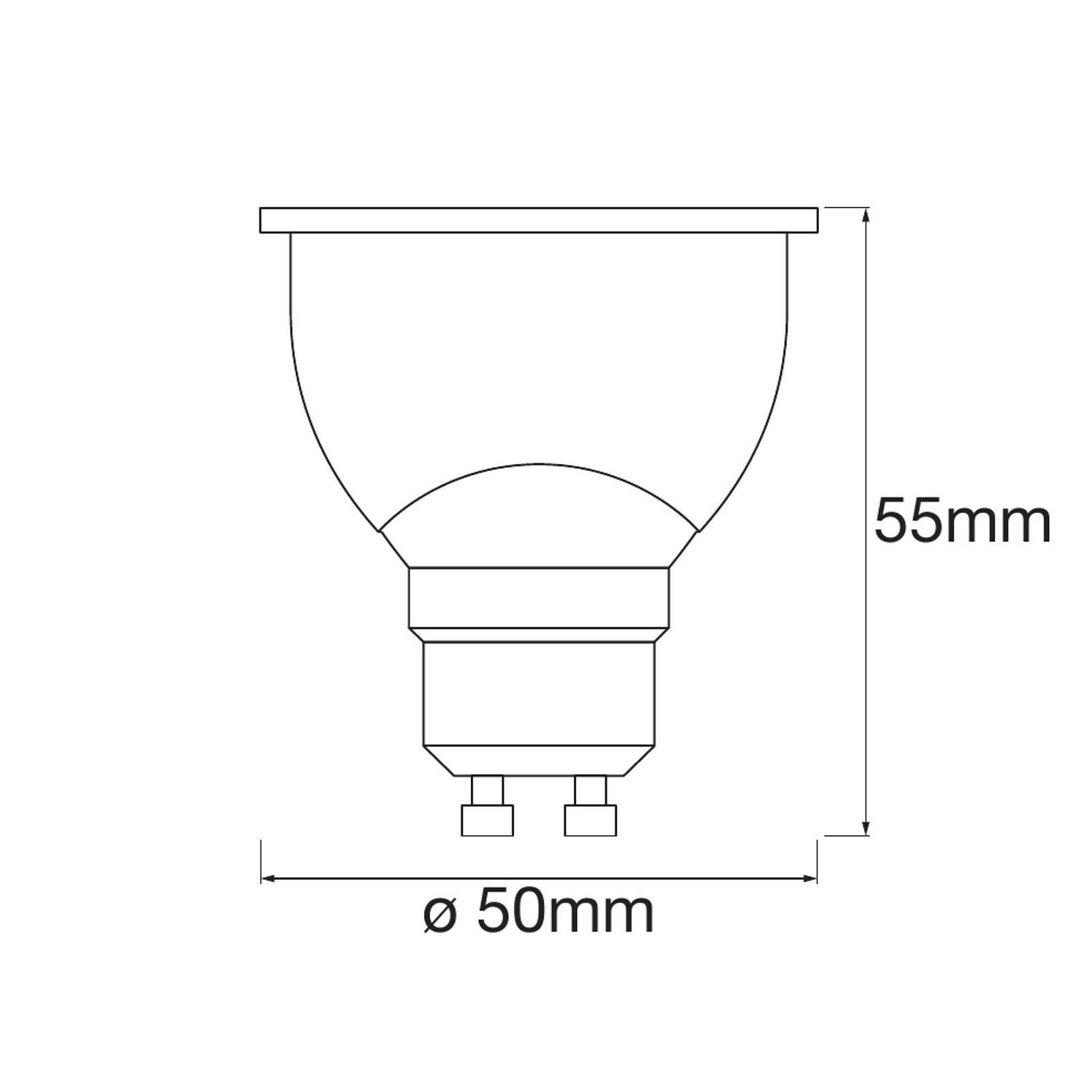LEDVANCE SMART+ WiFi GU10-heijastin 5W 45° 2 700 K