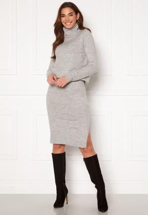 ONLY Cille Skirt Ex Knit Ligth Grey Melange L