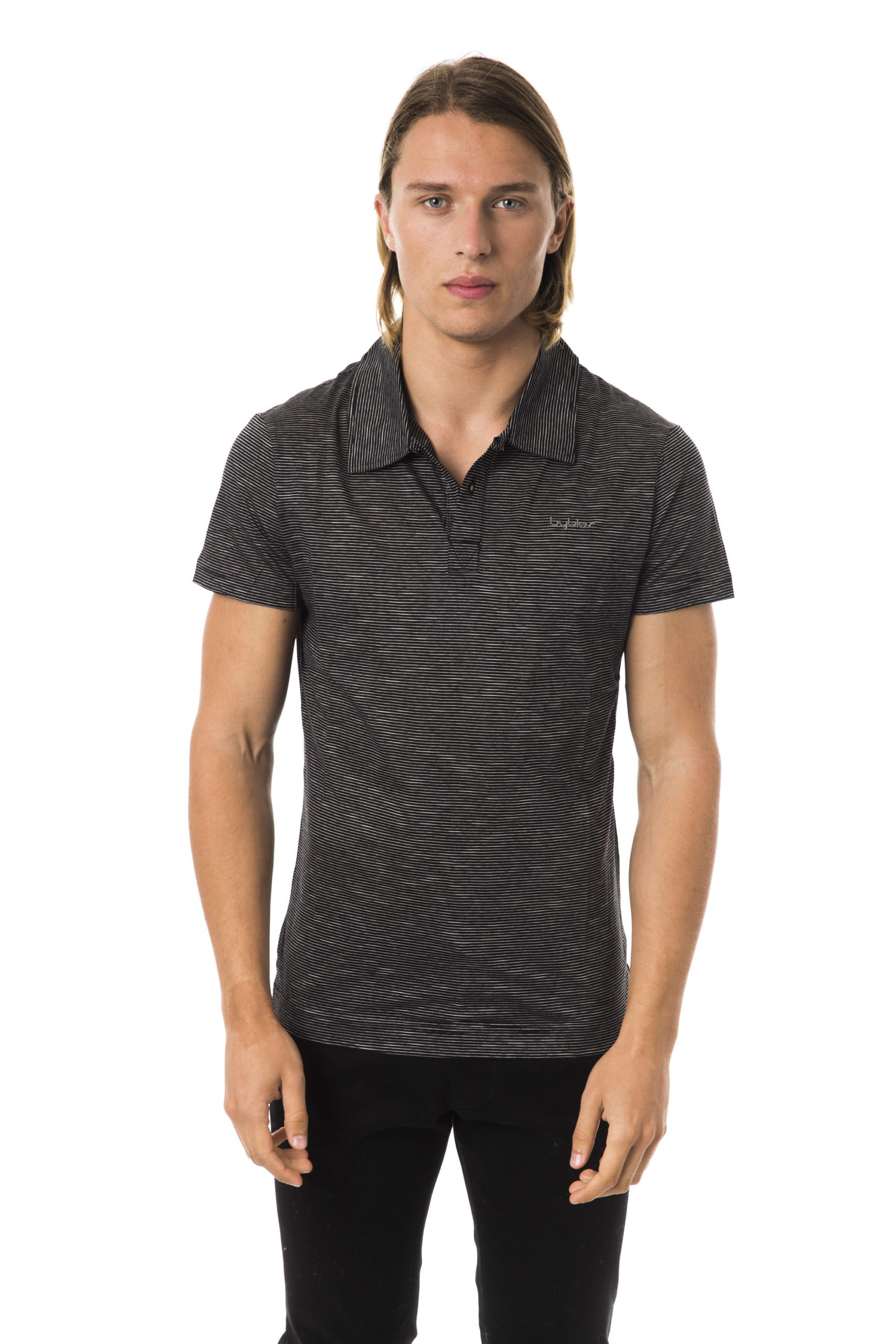 Byblos Men's Polo Shirt Black BY997166 - L